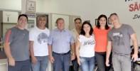 Equipe completa do Centro de Formação de Condutores São José