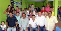 Além do prefeito Saulo Benevides, moradores e vereadores estiveram presente na inauguração