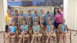 Equipe ficou em 4º lugar no Campeonato Brasileiro
