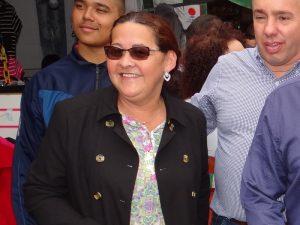 A ex-vereadora Berenice Nascimento, a Berê do Posto