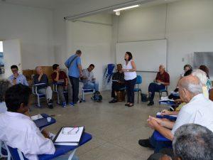 Reunião teve participação da Professora Marilza