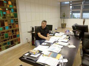"""Edmar """"aerocar"""" vereador eleito pelo Partido Verde"""