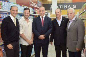 Eduardo Nogueira -  primeiro da direita para esquerda- iniciou o diálogo com a Coop em meados de 2003