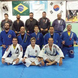Equipe de Jiu Jitsu da academia