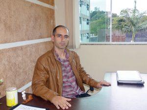 Anselmo Martins está em seu primeiro mandato na Casa de Leis