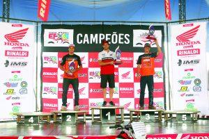 Luís Oliveira 1º, Rômulo Bottrel 2º e Bruno Crivilin 3º, formaram o pódio da etapa de Ribeirão Pires.