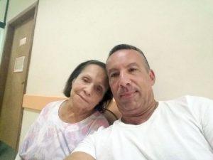 Nos últimos 10 anos, Sérgio dedicou integralmente sua vida à mãe